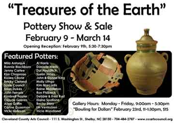 Treasures of the Earth show and sale
